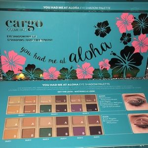 Cargo eyeshadow palette Aloha - brand new, NIB